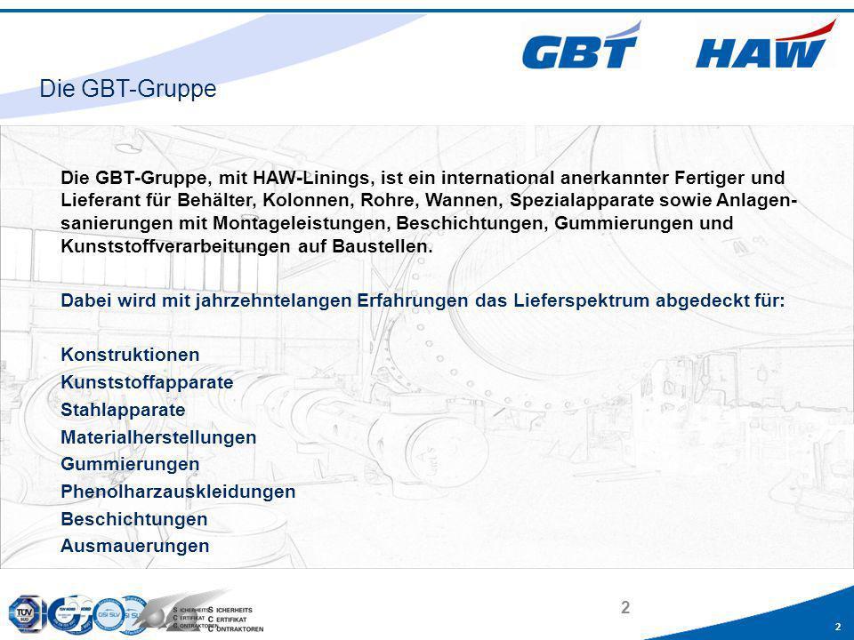 Die GBT-Gruppe