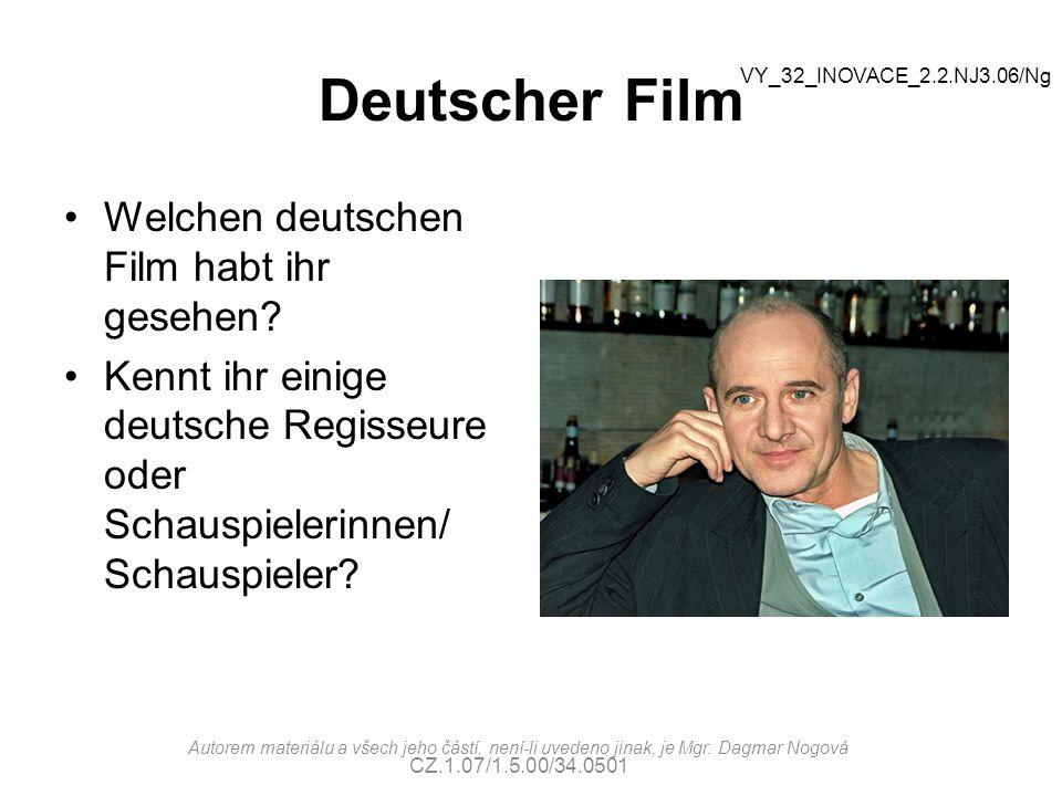 Deutscher Film Welchen deutschen Film habt ihr gesehen
