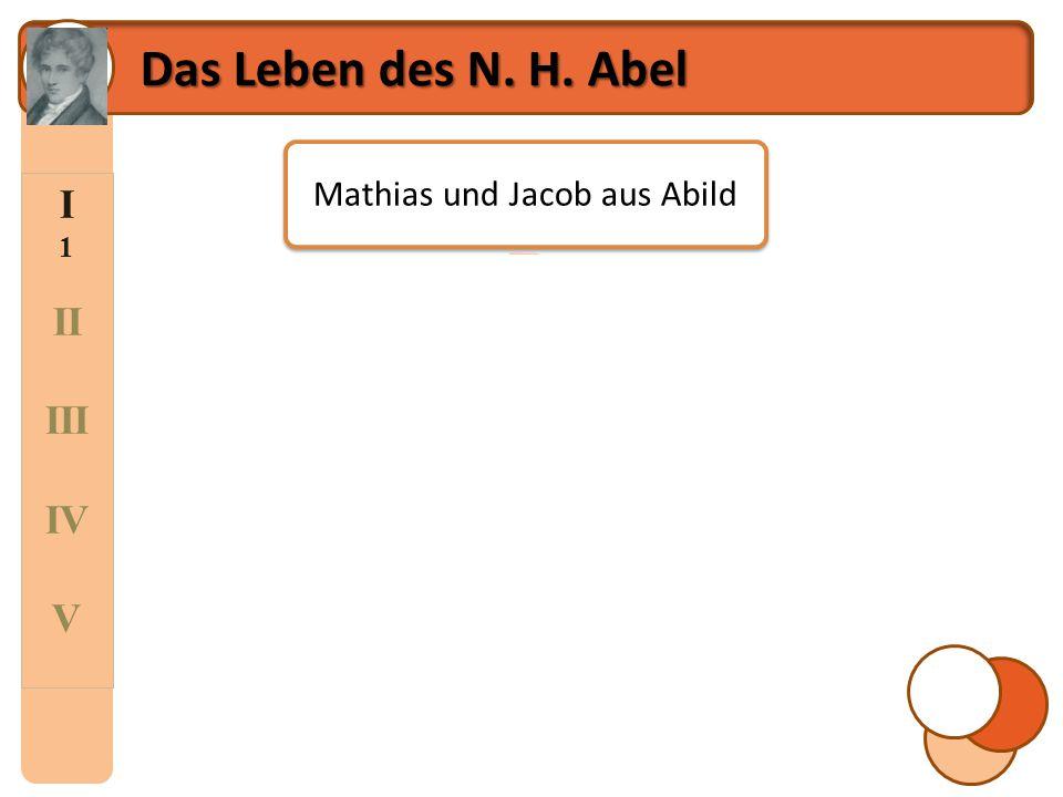 Mathias und Jacob aus Abild