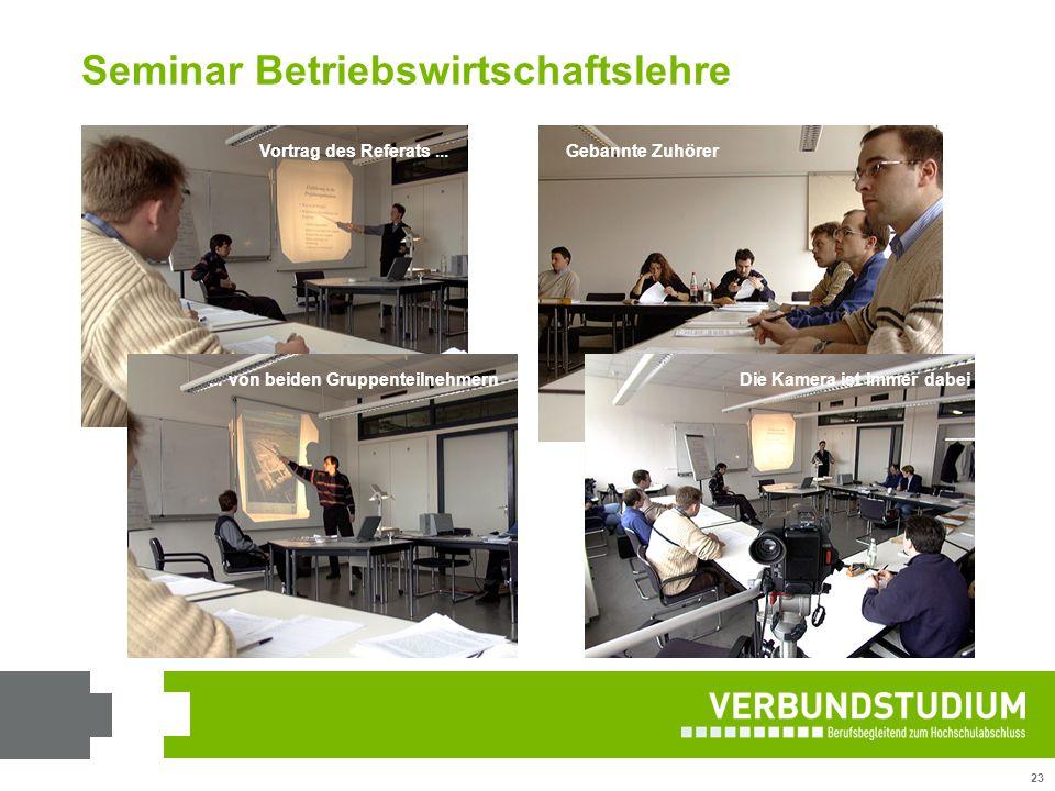 Seminar Betriebswirtschaftslehre