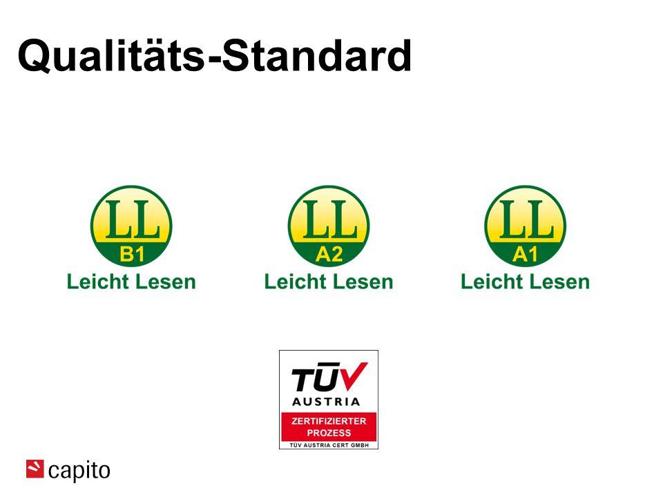 Qualitäts-Standard