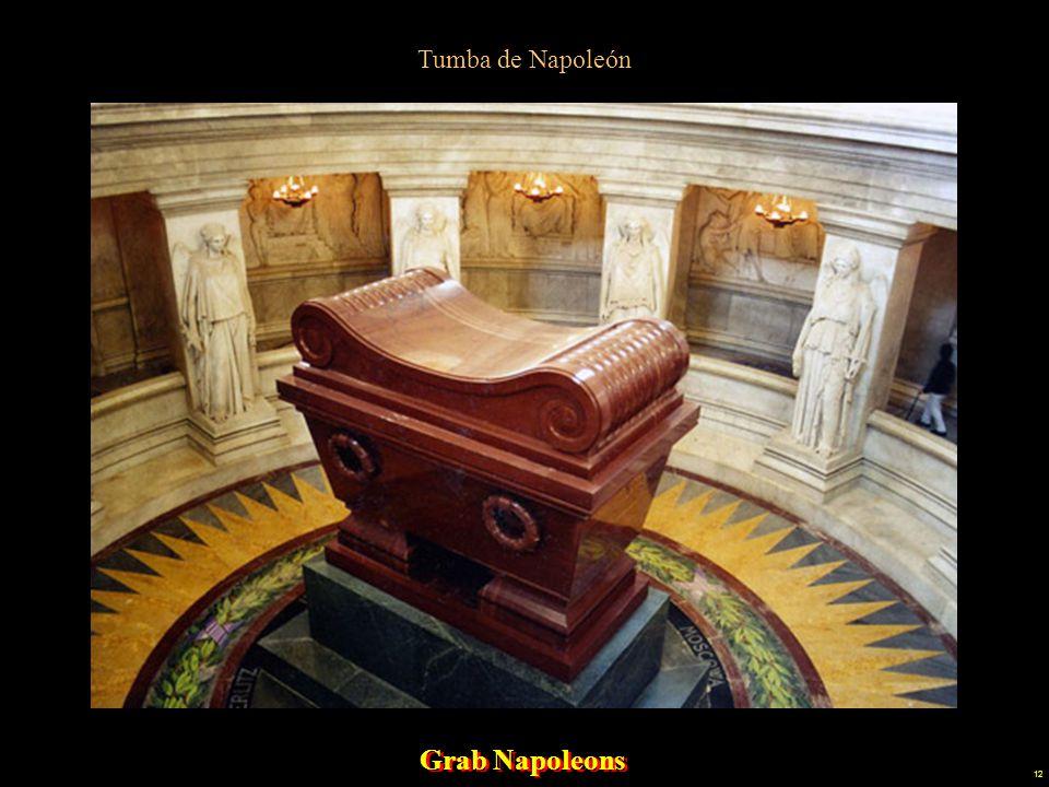 Tumba de Napoleón Grab Napoleons