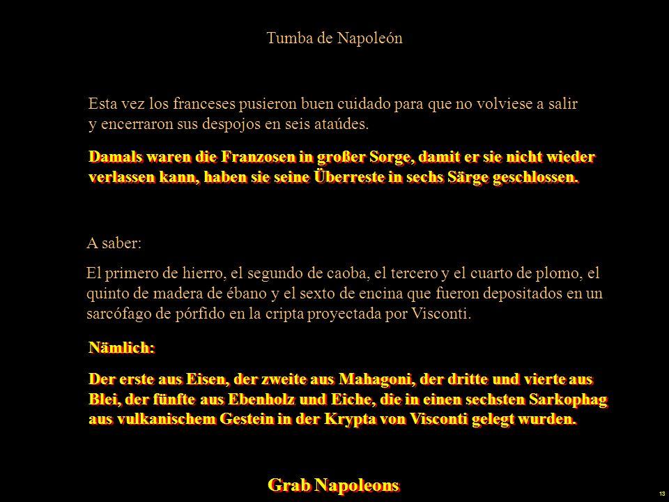 Grab Napoleons Tumba de Napoleón