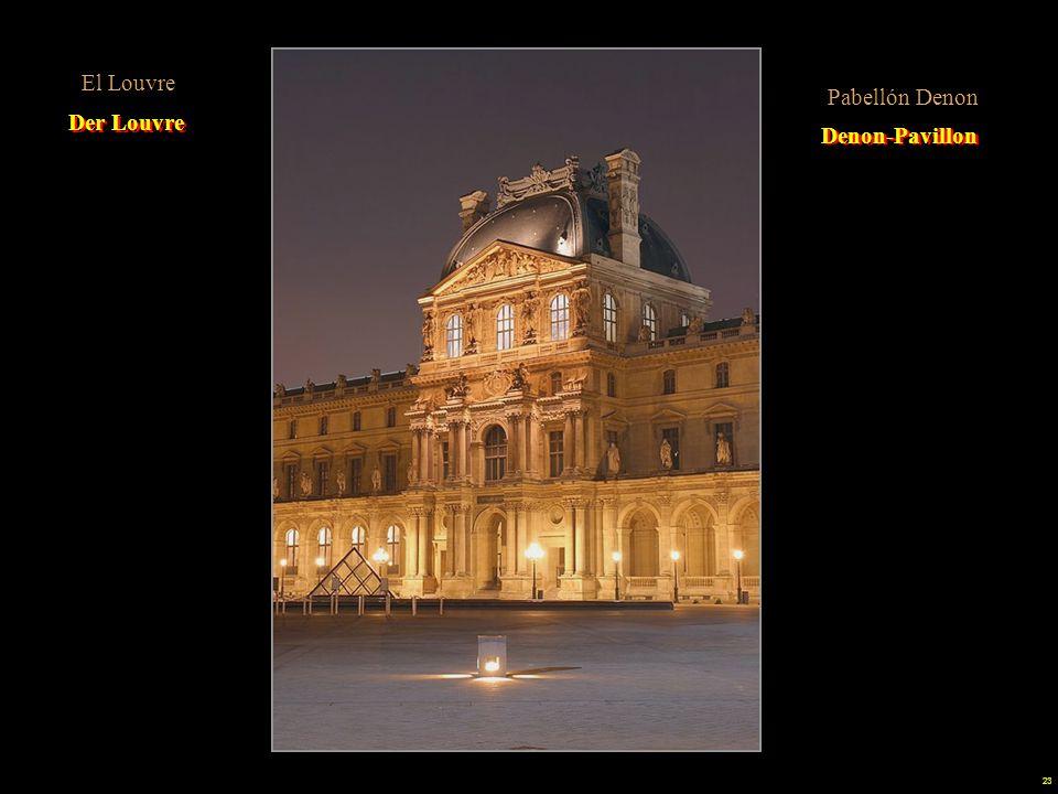 El Louvre Sinónimo de obra perpetua. ¿Cuántos años de obras 200, 300 o más Pabellón Denon. Der Louvre.