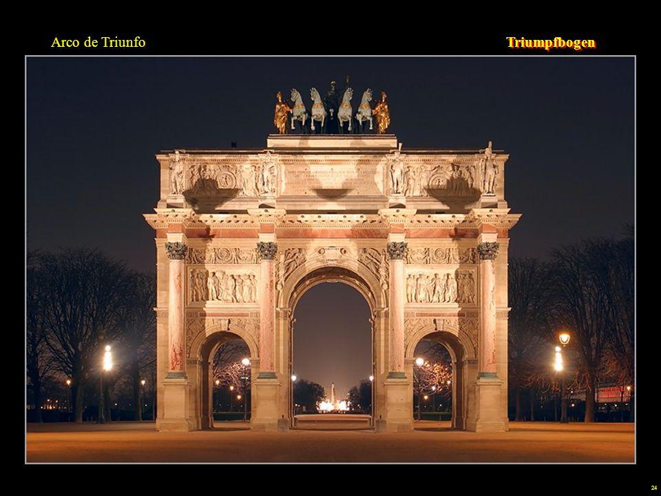 Arco de Triunfo Triumpfbogen.