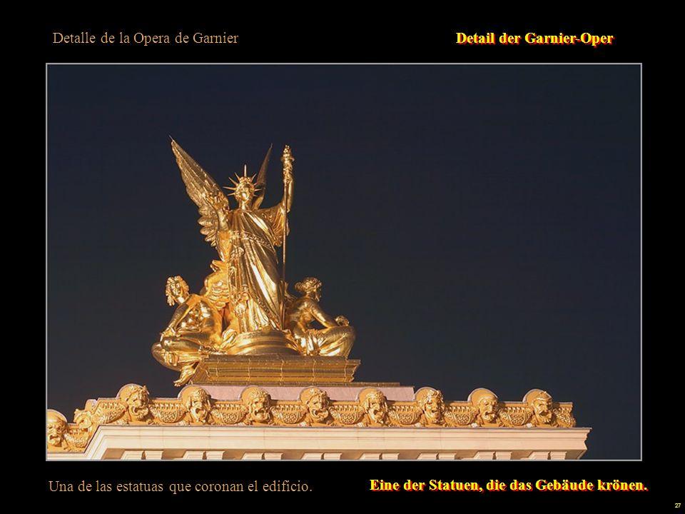 Detalle de la Opera de Garnier