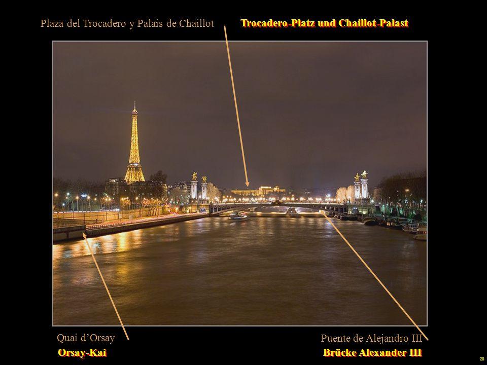 Plaza del Trocadero y Palais de Chaillot