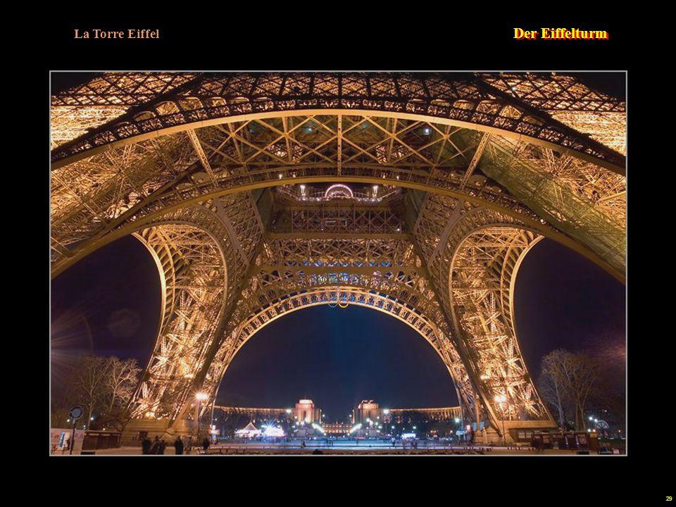 La Torre Eiffel Der Eiffelturm.