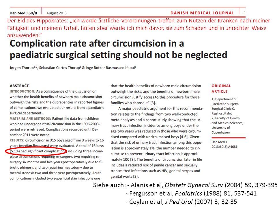 Siehe auch: - Alanis et al, Obstetr Gynecol Surv (2004) 59, 379-395