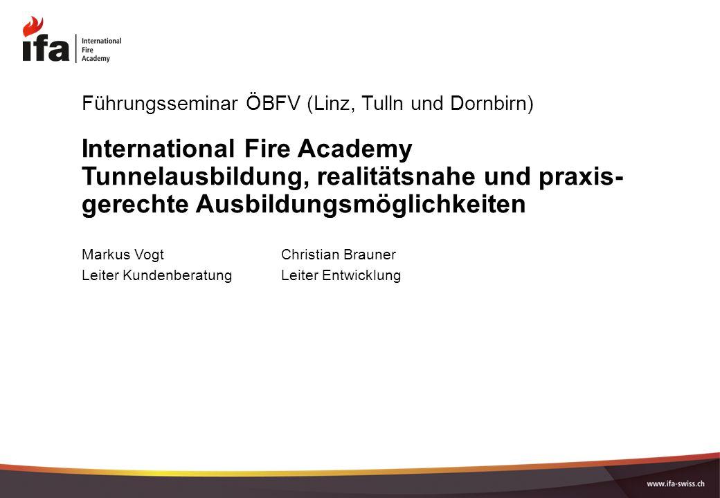 Führungsseminar ÖBFV (Linz, Tulln und Dornbirn)