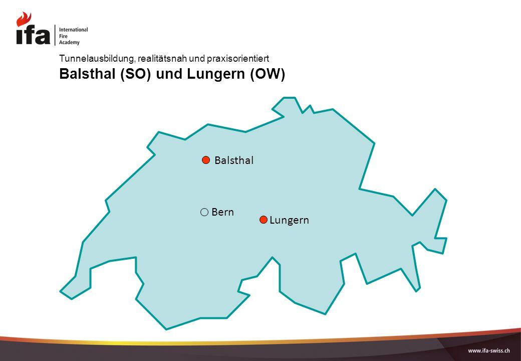 Balsthal (SO) und Lungern (OW)