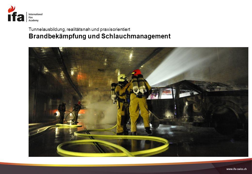 Brandbekämpfung und Schlauchmanagement