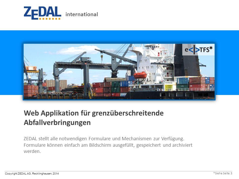 Web Applikation für grenzüberschreitende Abfallverbringungen
