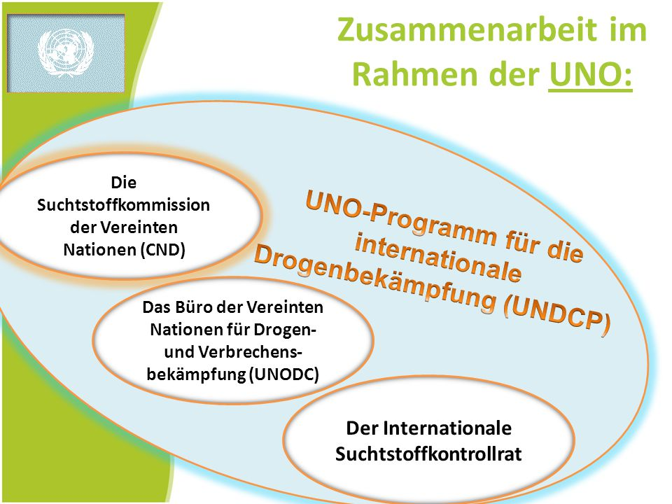 Zusammenarbeit im Rahmen der UNO: