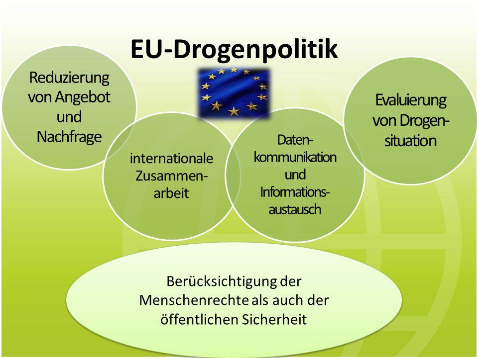 EU-Drogenpolitik Evaluierung von Drogen-situation