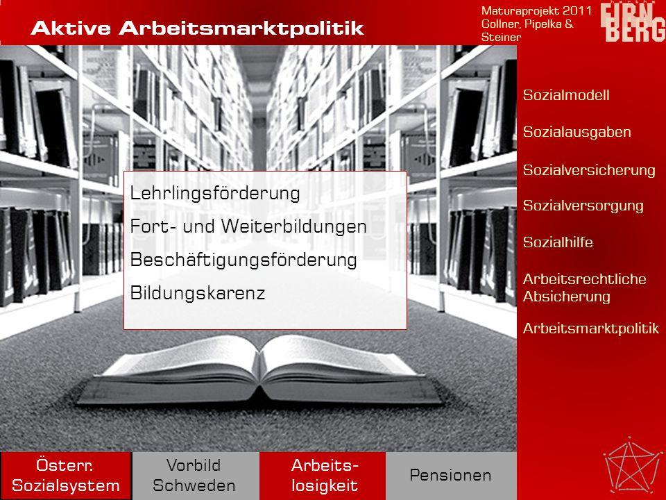 Aktive Arbeitsmarktpolitik