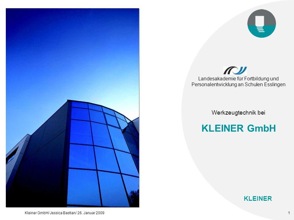 KLEINER GmbH Werkzeugtechnik bei