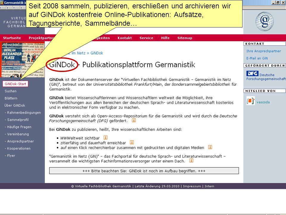 germanistik studium online