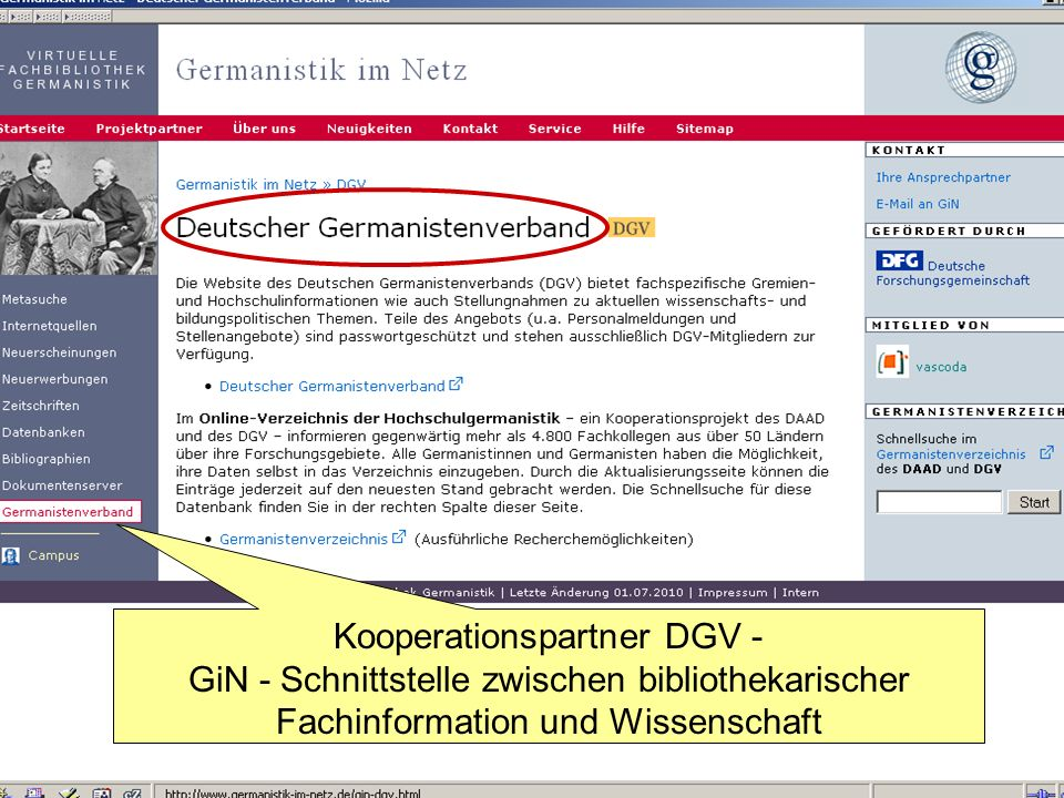 Kooperationspartner DGV -