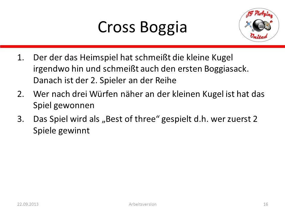 Cross Boggia