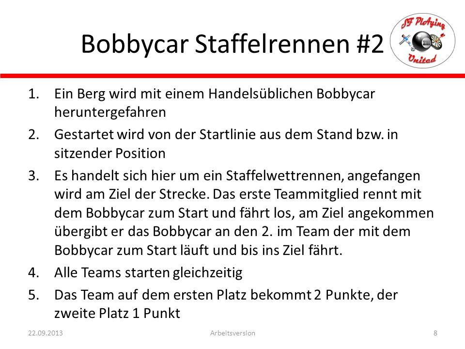 Bobbycar Staffelrennen #2