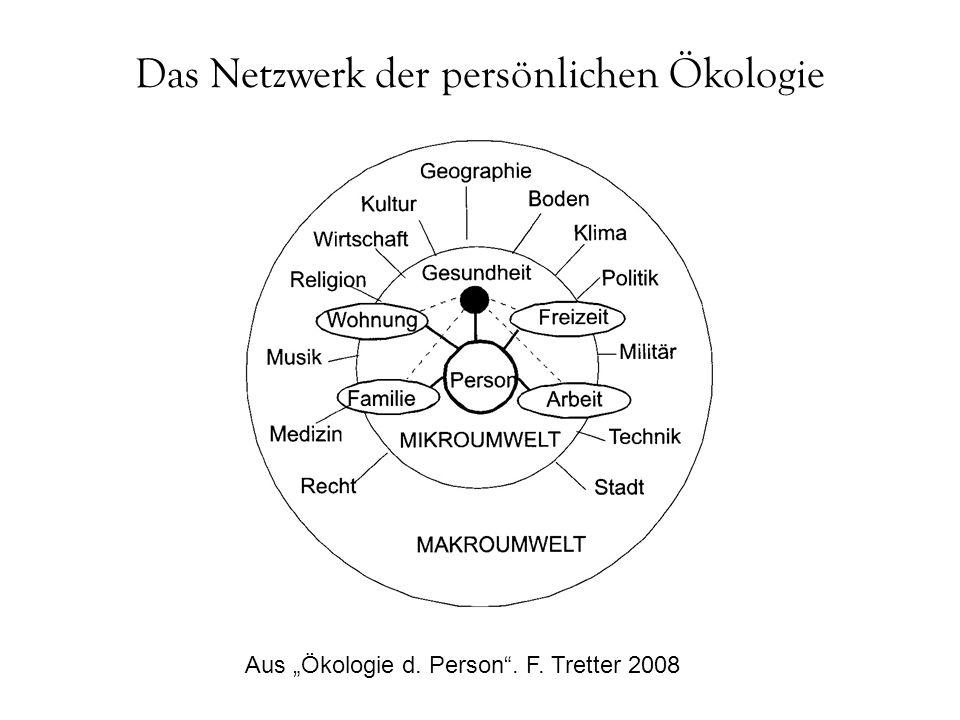 Das Netzwerk der persönlichen Ökologie