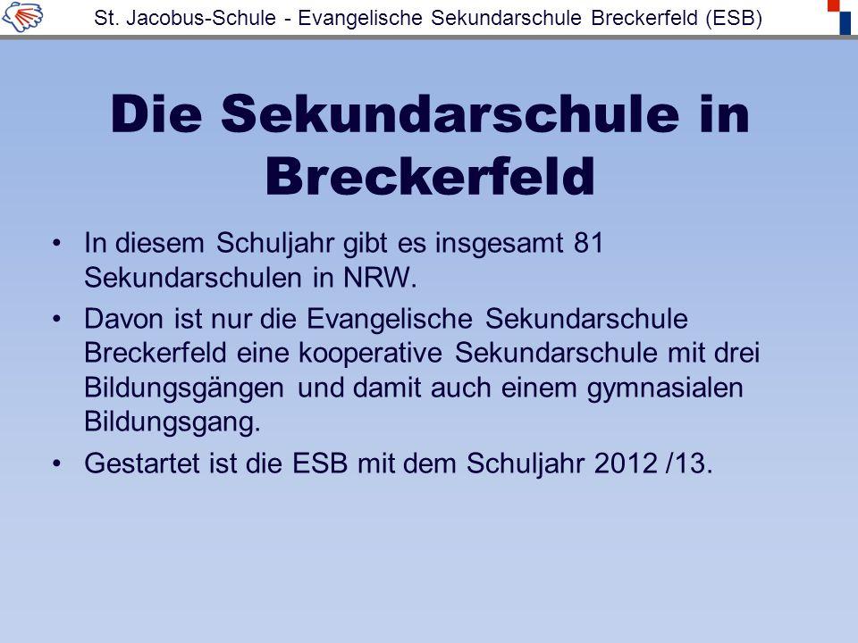 Die Sekundarschule in Breckerfeld