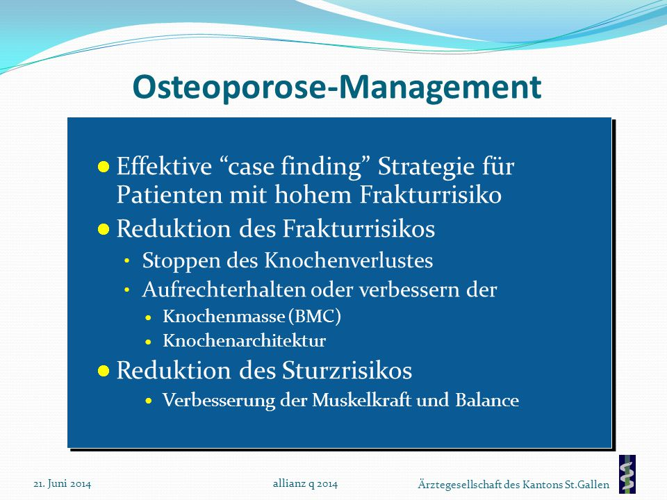 Osteoporose-Management