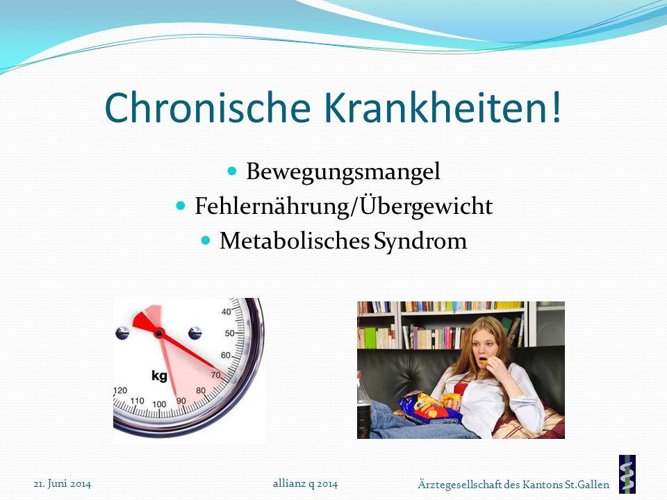 Chronische Krankheiten!
