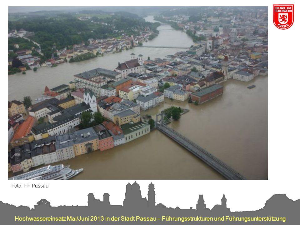 Impressionen überflutete Altstadt