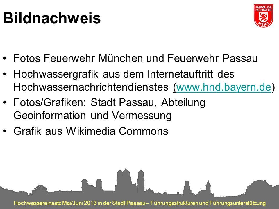 Bildnachweis Fotos Feuerwehr München und Feuerwehr Passau