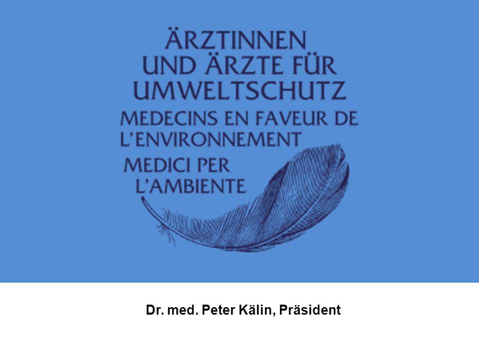 Dr. med. Peter Kälin, Präsident