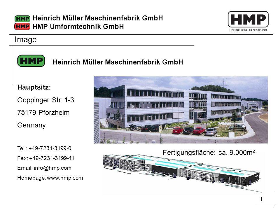 Image Heinrich Müller Maschinenfabrik GmbH Hauptsitz: