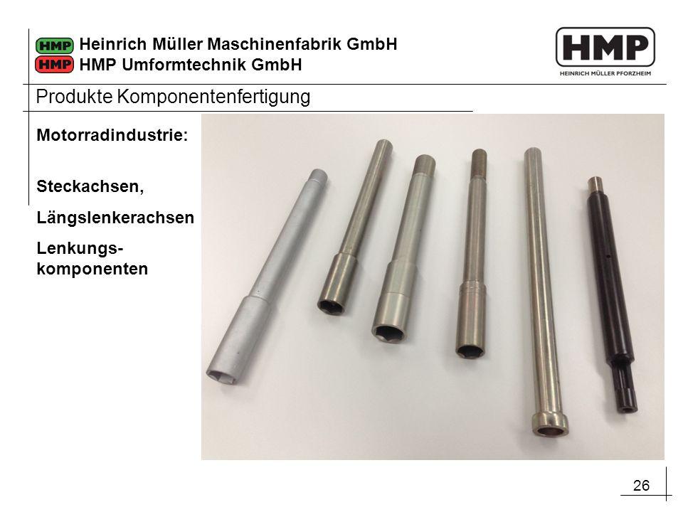 Produkte Komponentenfertigung
