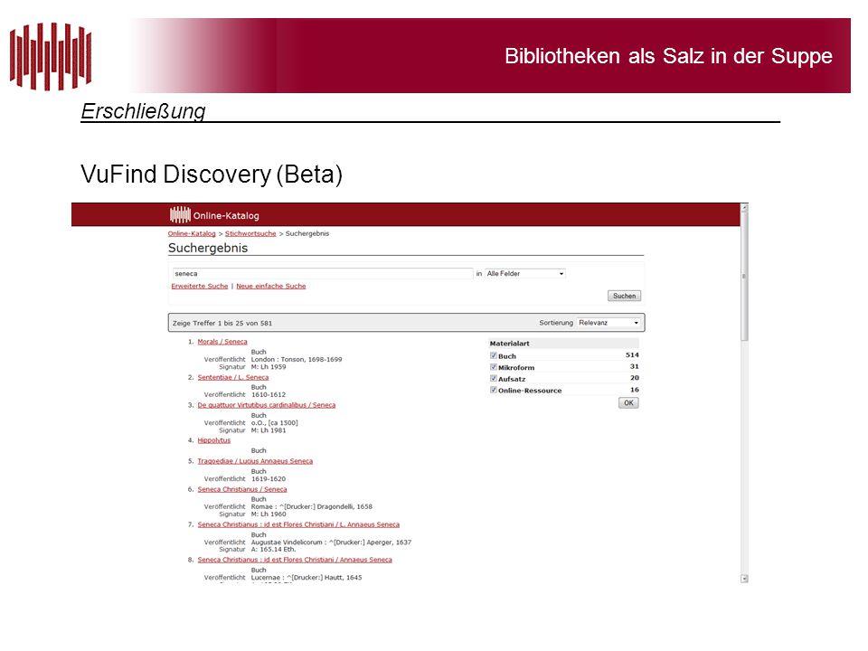 VuFind Discovery (Beta)