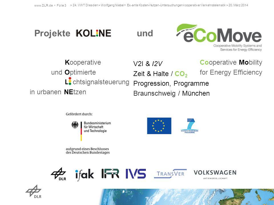 Projekte K und Kooperative Cooperative Mobility V2I & I2V
