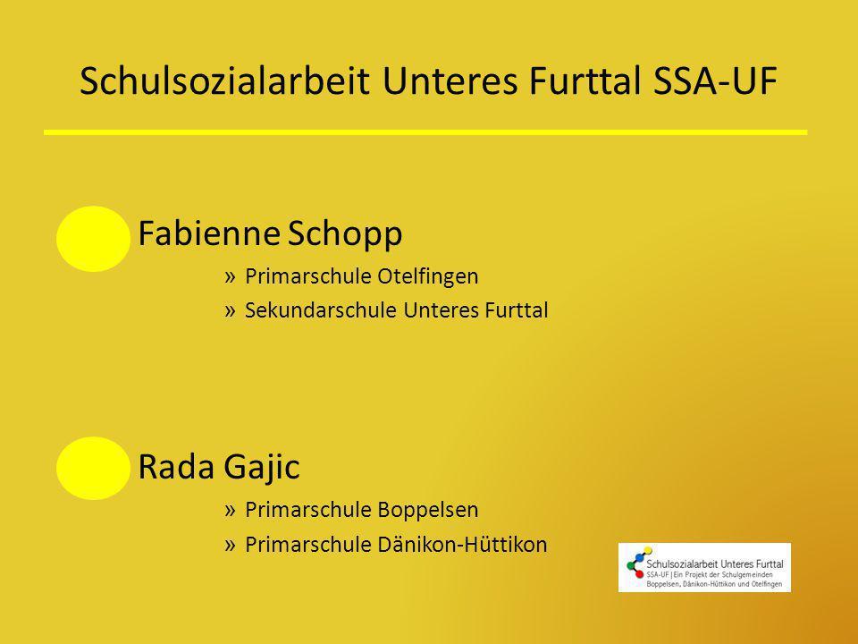 Schulsozialarbeit Unteres Furttal SSA-UF