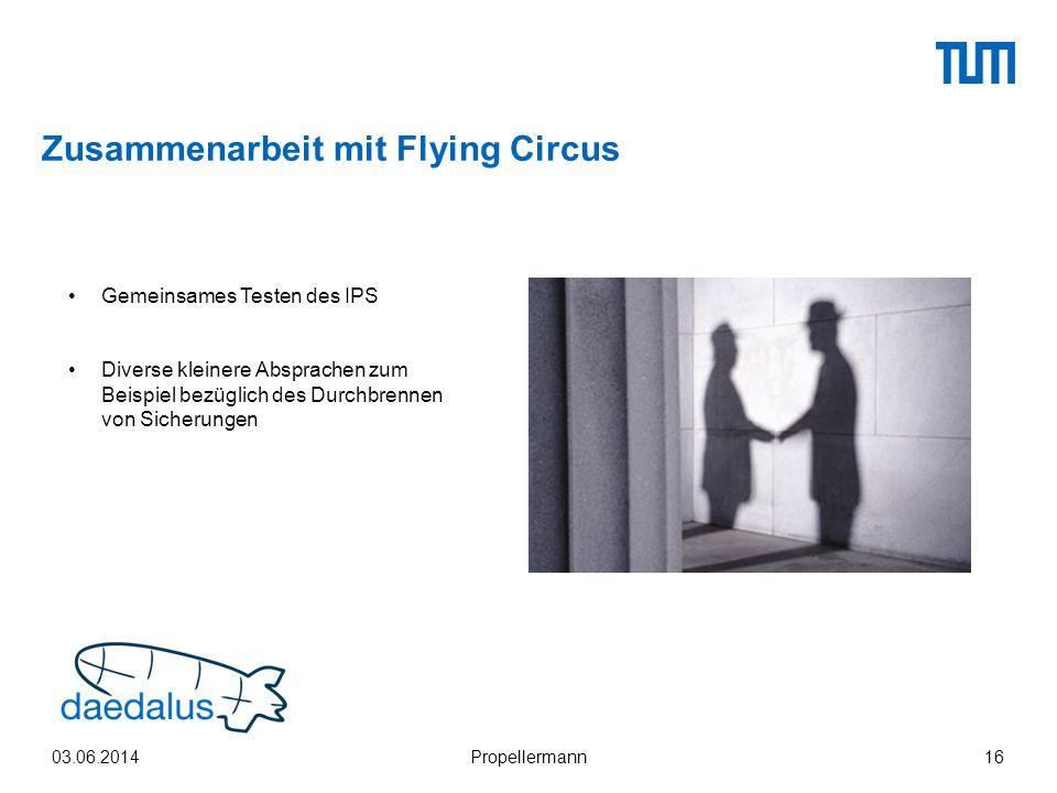 Zusammenarbeit mit Flying Circus