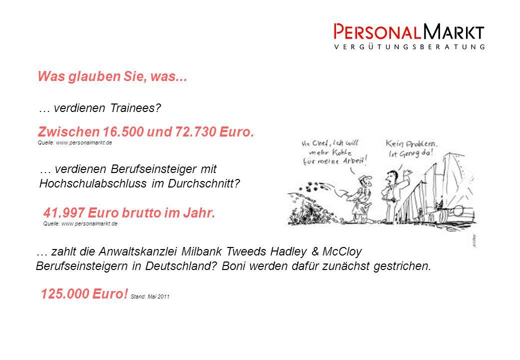 41.997 Euro brutto im Jahr. Quelle: www.personalmarkt.de