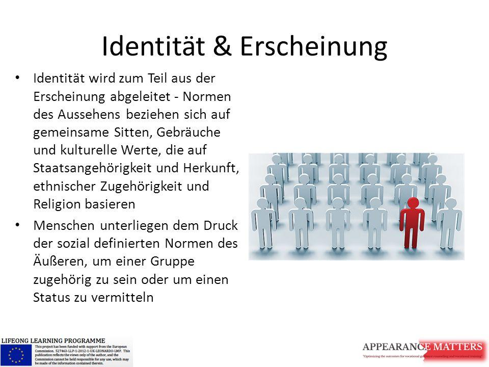 Identität & Erscheinung