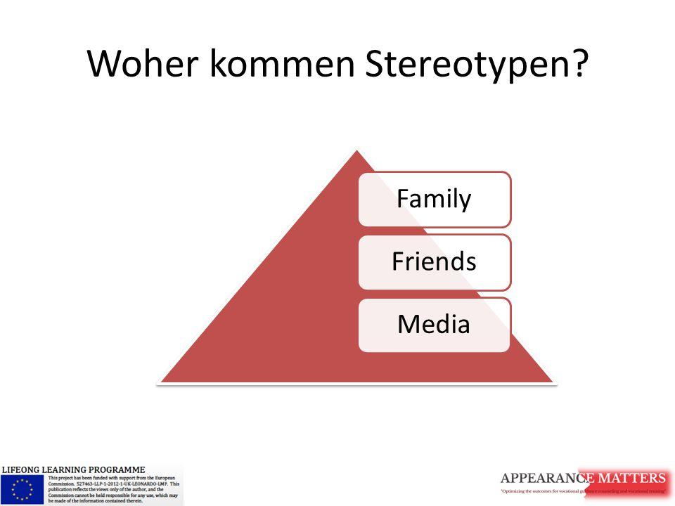 Woher kommen Stereotypen