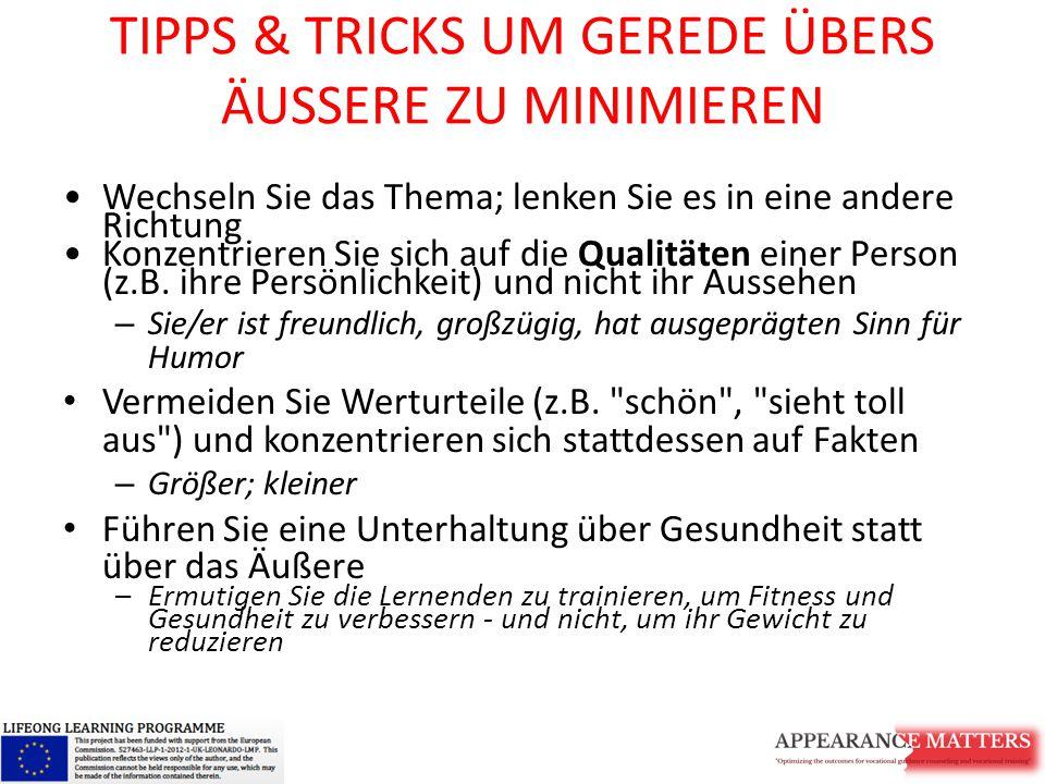 TIPPS & TRICKS UM GEREDE ÜBERS ÄUSSERE ZU MINIMIEREN
