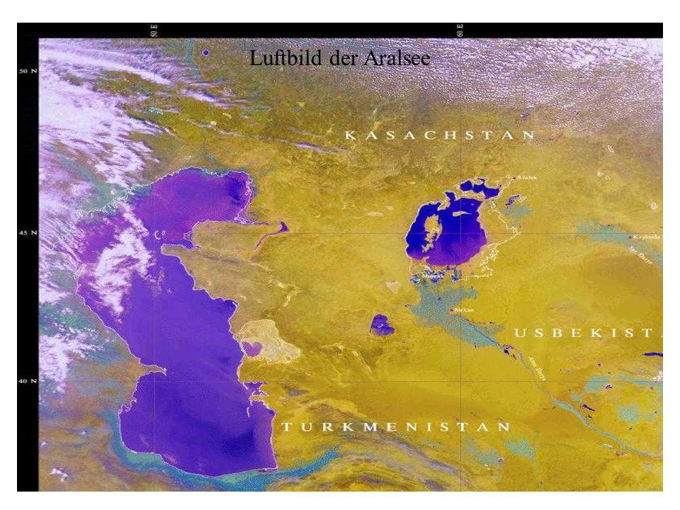 Luftbild der Aralsee