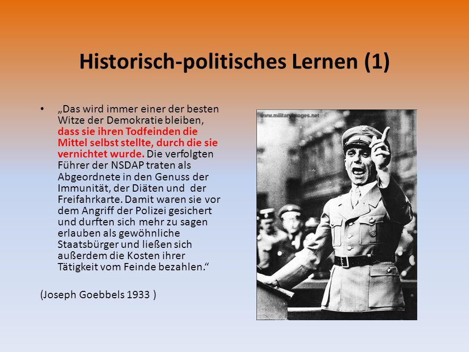 Historisch-politisches Lernen (1)
