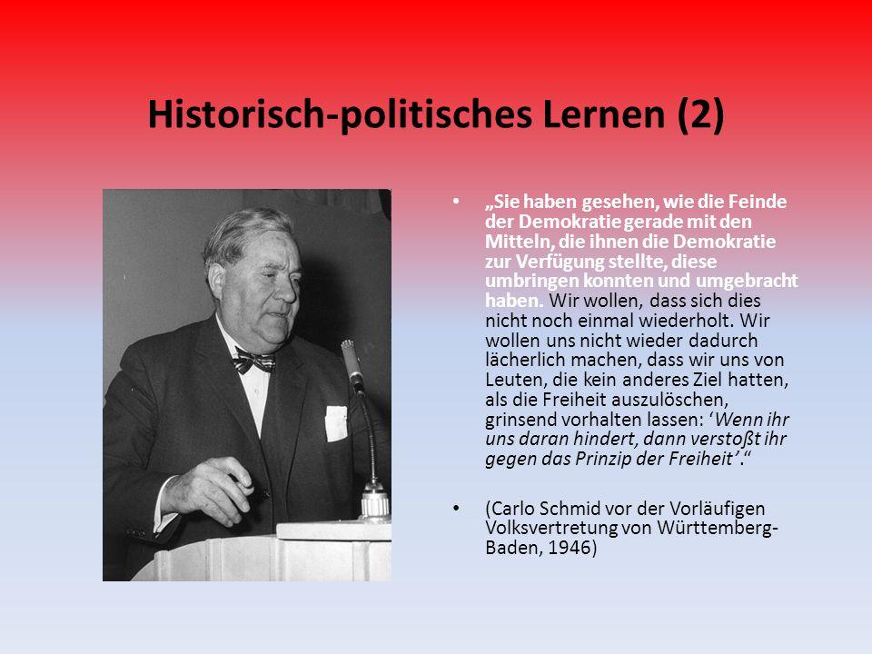 Historisch-politisches Lernen (2)