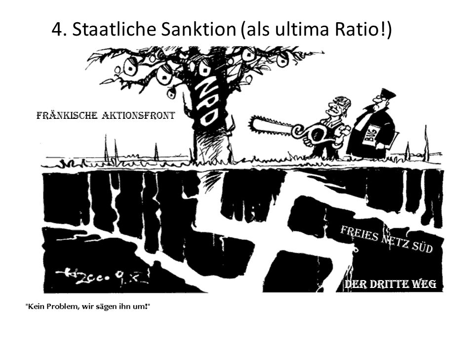 4. Staatliche Sanktion (als ultima Ratio!)