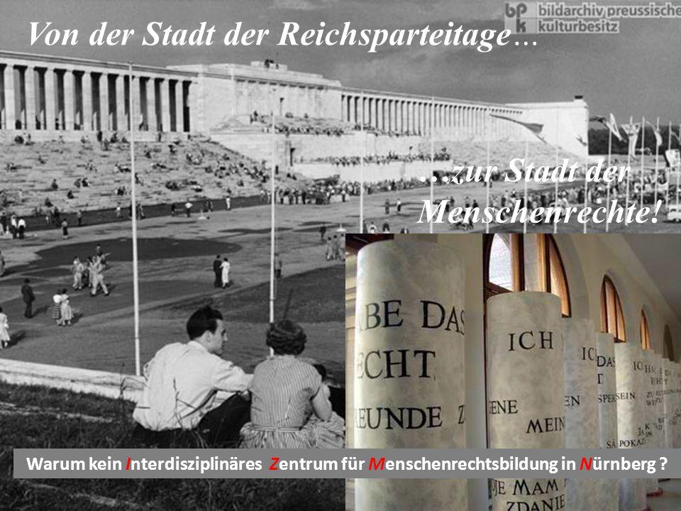 Von der Stadt der Reichsparteitage…