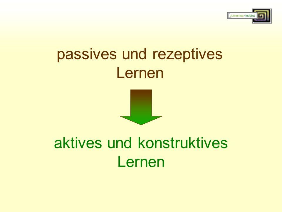 passives und rezeptives Lernen