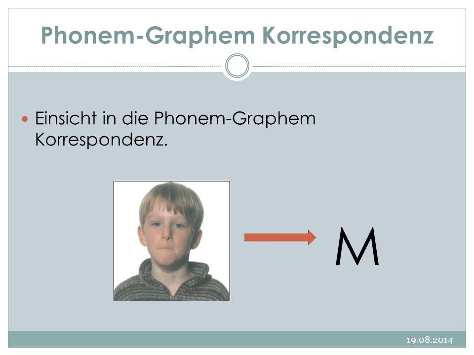 Phonem-Graphem Korrespondenz