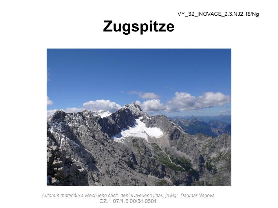 Zugspitze VY_32_INOVACE_2.3.NJ2.18/Ng CZ.1.07/1.5.00/34.0501